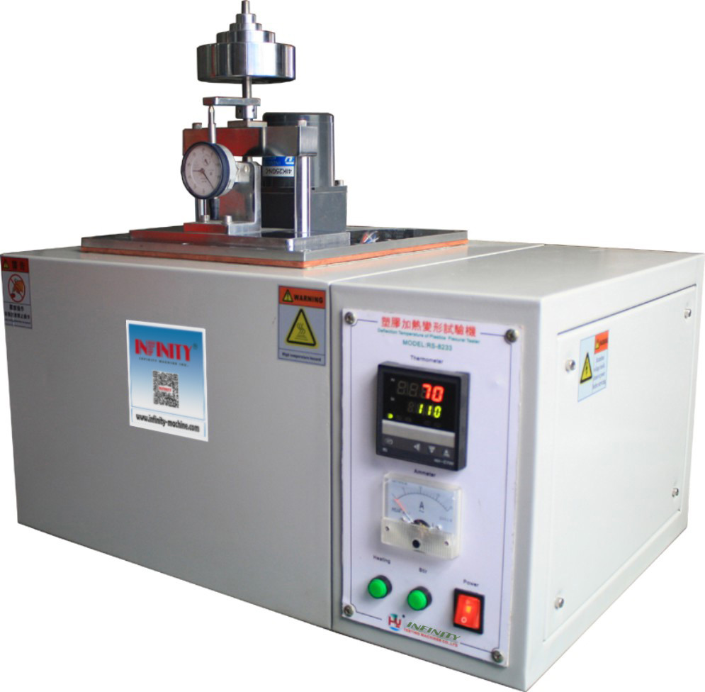 550*400*600mm Plastic Testing Equipment Heating Distortion Resistance Testing